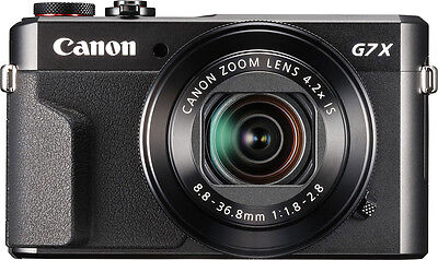 Canon - PowerShot G7 X Mark II 20.1-Megapixel Digital Camera