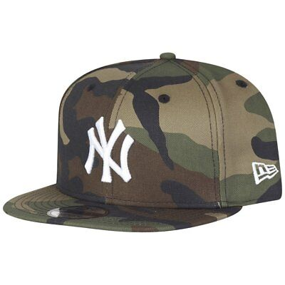 New Era 9Fifty Snapback Cap - BASIC NY Yankees wood camo