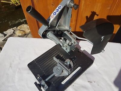 cut off saw, chop saw jig, angle grider stand, angle grider accessory thing