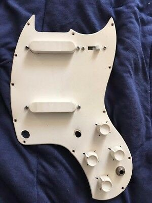 1966 Kalamazoo KG2 pickguard assembly, complete and working. Gibson Melody Maker