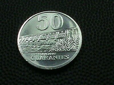 PARAGUAY    50  Guaranies    2011    BRILLIANT  UNCIRCULATED
