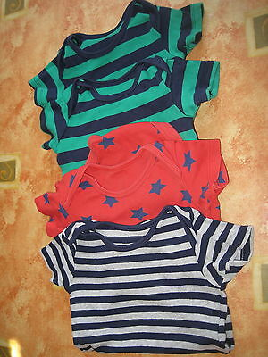4 Baby Boys Body Suits Age 12-18 Months 3 Are Brand New