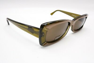 New JEAN LAFONT PARIS Sunglasses Salambo 502 Olive & Brown France 4666
