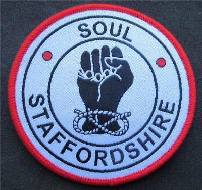 Northern Soul Patch - Soul Staffordshire Red