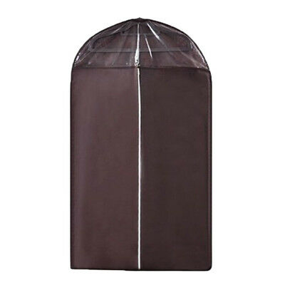 SS NonWoven Dust-proof Clothes Cover Suit Dress Garment Bag Storage Protector-Co