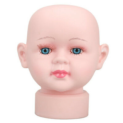 SS Cute Children Manikin Head Hats Wig Mould for Show Stand Model Mannequins(Gir