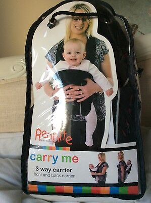 mothercare baby carrier instructions