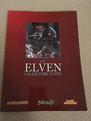 Warhammer- The Elven Collector's Guide - Games Workshop 2006 RARE