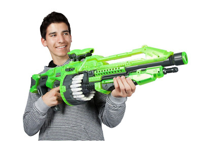 Giant Nerf Gun For Boys Sniper Scope Pistol Shotgun Vortex Blaster Machine Green