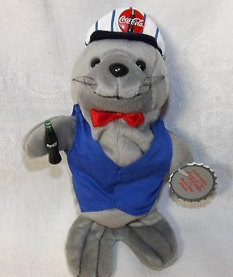 Coca Cola Seal in Delivery Outfit #0170 NWT