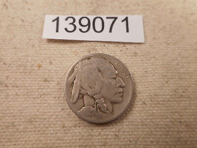 1920 D Buffalo Nickel - Very Nice Better Date Collector Album Coin - # 139071
