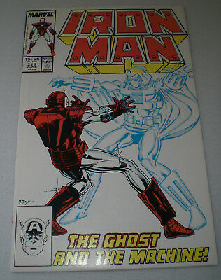 IRON MAN #219 NM 1st Appearance GHOST Ant-Man / Wasp movie