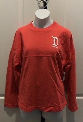 "Disneyparks ""Disneyland Resort Est. 1955"" Spirit Jersey Long Sleeve Youth Lg-Nwt"
