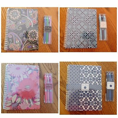 Vera Bradley - Mini Notebook AND Click Pen Combo Set - Choice! New with tags