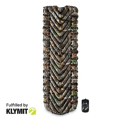 KLYMIT Static V Lightweight Sleeping Camping Pad REALTREE CAMO - BRAND NEW