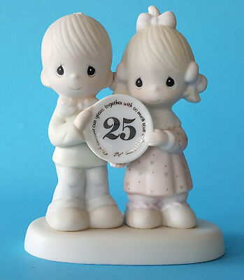"Precious Moments E-2857 ""God Bless Our Years Together.."" (25th Anniver) Figurine"