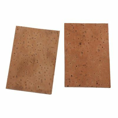 5X(Nature neck cork board for Alt / Soprano / Tenor saxophone 2 pcs L7I2 DP