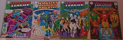 Justice League of America 52 53 54 57 59 61 69 70 lot of 8 Silver Age 1967-69