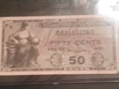 Mpc 50-Cent Series 481 Note