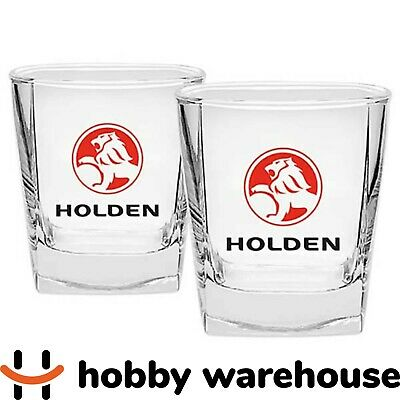 Holden Logo Set of 2 Spirit Glasses