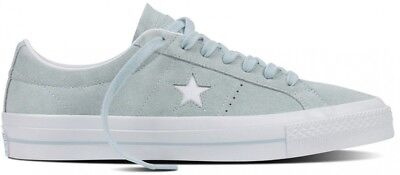 Converse One Star Suede OX Men's Polar Blue White Casual Sneakers Shoes 153963C