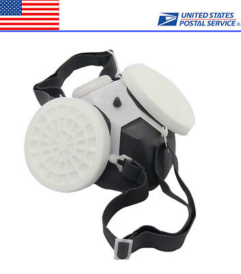 Outdoor Chemical Anti-Dust Anti-Toxic Respirator Mask Safety Mask Hot
