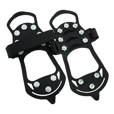 5X(Shoe spikes Shoe claws, anti-slip crampons shoes, spikes Snow chain for the P