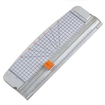 """5X(12"""" A4 Paper Cutter Trimmer White with Multi-function Automatic Security F3C9"""