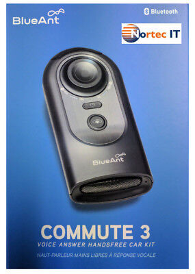 BLUEANT COMMUTE  3- Bluetooth SPEAKERPHONE -100% HANDSFREE DIAL & TEXT AUS STOCK