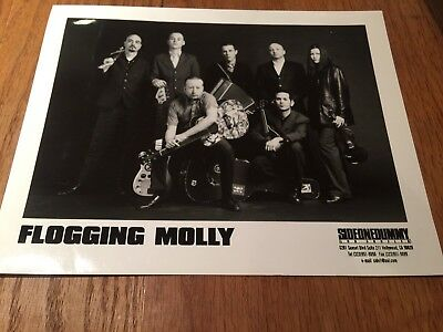 Flogging Molly - American Celtic Band -  8 x10 PRESS PROMO PHOTO