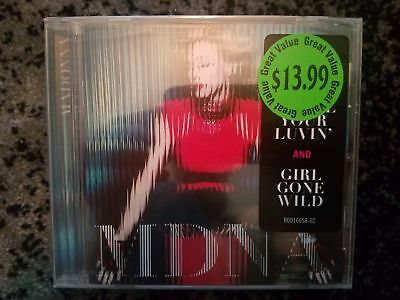 MDNA CD by Madonna     New & Sealed  (small crack in case) mdma