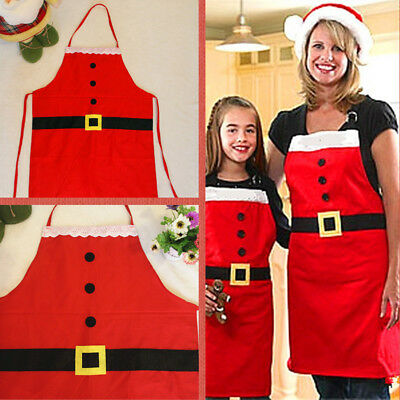 Christmas Novelty Kitchen Cooking Apron Party Xmas Fun Gift Adult/Children