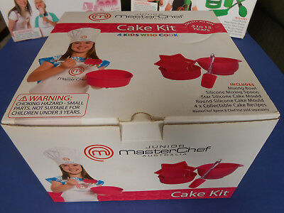 Junior Masterchef Australia - Cake Kit 4 Kids Who Cook **as New