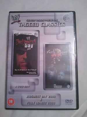 WWE Tagged Classics - Judgment Day & Fully Loaded 2000 (DVD) 00 WWF Rare