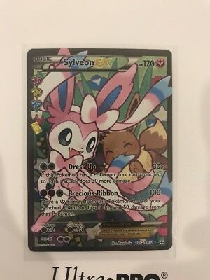Pokemon XY Generations Radiant Collection Sylveon EX Full Art Ultra Rare Card RC