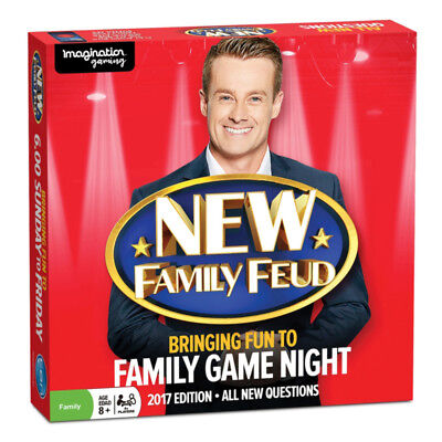 New Family Feud 2017 Edition Board Game NEW