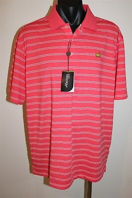 Masters Golf Men's Golf Polo Shirt Size Large Bnwt