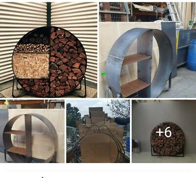 firewood holder, fire wood storage. 1200mm. 1.2mtrs.