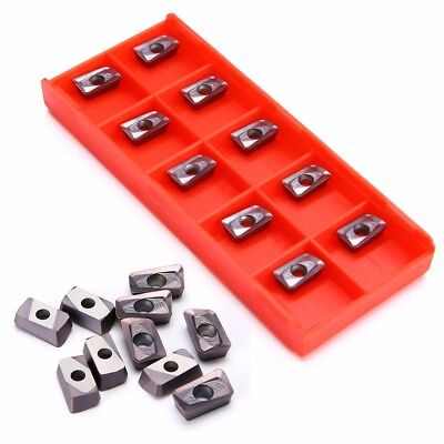 10pcs 10*5*3.5mm APKT11T308-PM Carbide Tungsten Steel Milling Inserts With Box