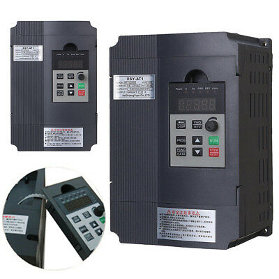 2.2KW 220V 3HP Single Phase Variable Frequency Inverter Drive Inverter VSD VFD