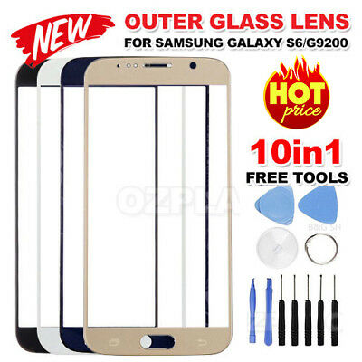 Premium for Samsung Galaxy S6 G9200 Front Outer Glass Lens Screen Replacement