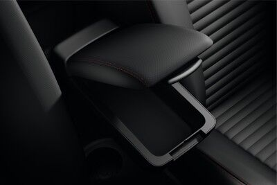 Renault Genuine Clio IV & Captur I Black Front Armrest Console Storage Holder
