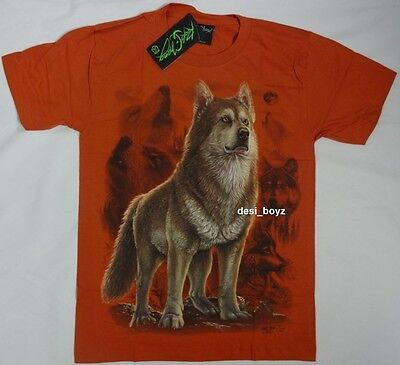 Brand New - Rock Chang Glow in the Dark Wolf Tee T Shirt - Size: Small