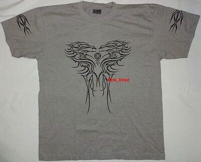 Brand New - Grey Graphic Print Tee T Shirt - Size: XL