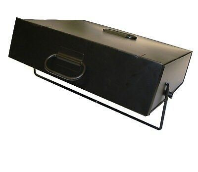 Black Hot Ash Tidy Box Carrier Bucket Fireplace Pan Including FREE DELIVERY.