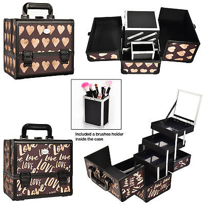 Extra Large Professinal Vanity Case Makeup Beauty Box Cosmetic Nail Art Storage