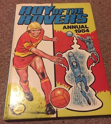 Roy of the Rovers Annual 1984 Vintage Good Condition