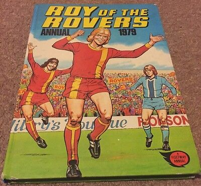 Roy of the Rovers Annual 1979 Vintage Football Annual Good Condition