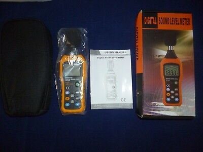 Digital Sound Level Meter  30 -130 Decibels Noise Measurement