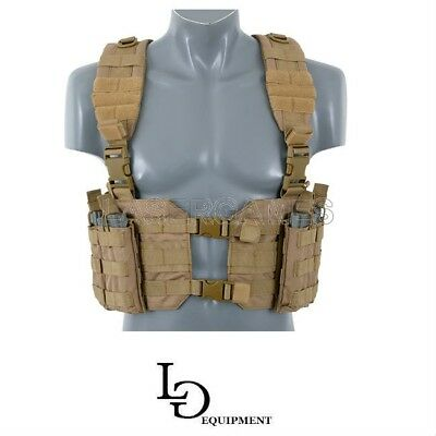 Gilet Tattico Split Front Chest Harness Softair E Militari